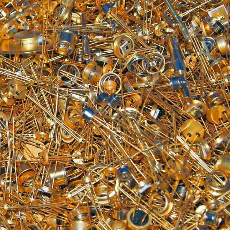 Sell Gold Plated Transistors